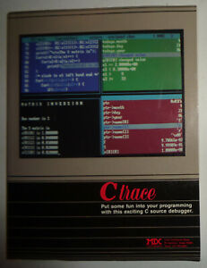 C Trace  - C Source debugger, by Mix Software. 1988. Unused.
