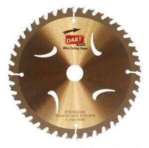 DART-STK1653024-ORO-TCT-sottile-intaccatura-TAGLIO-LAMA-SEGA-165dmm-x-30-mm-24