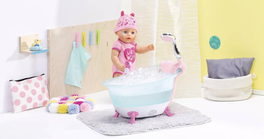 Baby Born Badewanne 824610 Schaumfunktion Puppenbadewanne Wanne Puppenwanne