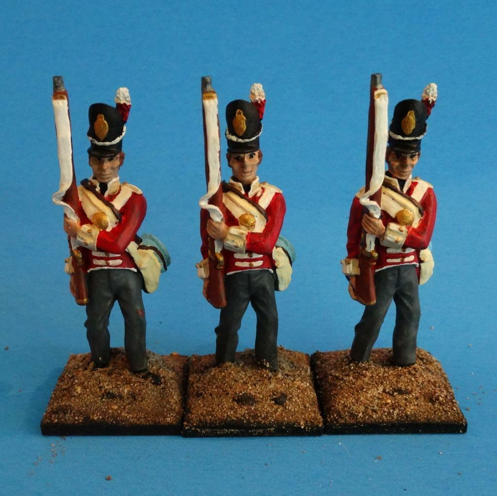 MI-504 - British Infantry at Port Arms - Napoleonics (3 figs)