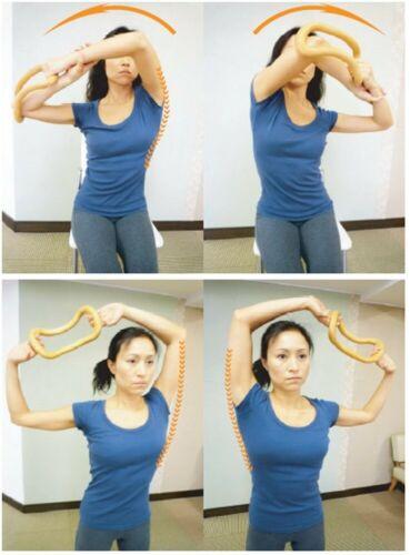 Maki Sports Wave Stretch Ring Plastic Lumbago Pink 4582 Maki 4582371090027