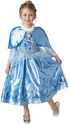 Winter Disney Princess Girls Fancy Dress Fairy Tale Book Day Kids Childs Costume