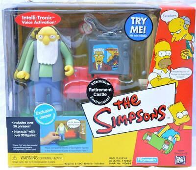 Simpsons World Springfield Set Retirement Castle Old man Jasper Environment !!+