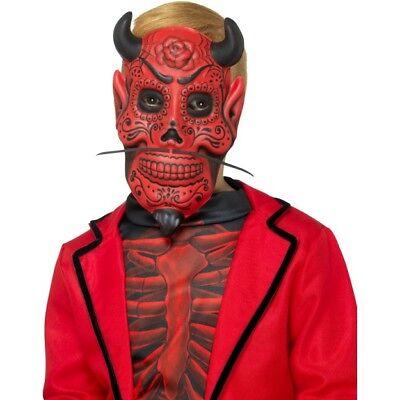 Abile Bambino Giorno Dei Morti Demonio Eva Maschera Ragazzi Halloween Costume Diavoli Forte Imballaggio