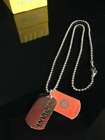 Invicta Gear Collectors Dog Tag Chain