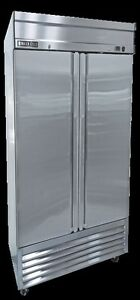 NEW-Maxx-Cold-MXSF-49FD-Two-2-Door-Upright-Reach-In-Freezer-FREE-SHIPPING