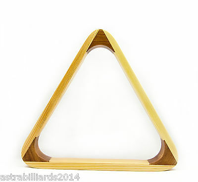 Pool Snooker Billiard Table Ball Triangle Holds 15 x 2' Balls - KP