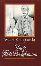 Walter Kempowski, Unser Herr Böckelmann, Lehrer Dorfschule Dorflehrer, geb. 1979