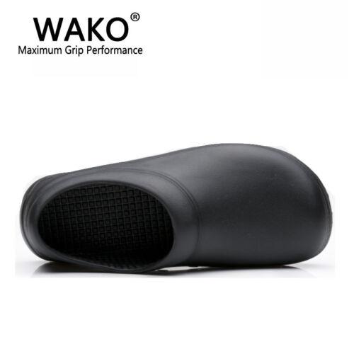 Women Men Non-Slip Safety Kitchen Cook Restaurant Water Oil Resistant Hot Shoes