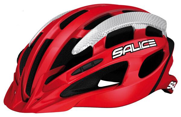 Casco en bicicleta SALICE Mod.SPIN MTB Col.rojo