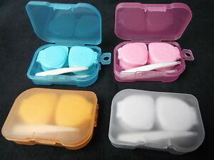 Mini-Contact-Lens-Plastic-Soaking-Storage-Case-box-standard-Holder-travel-kit