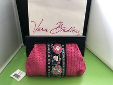 item 5 Vera Bradley Straw Clutch Bag Handbag in Petal Paisley aeaae7a91fd7b
