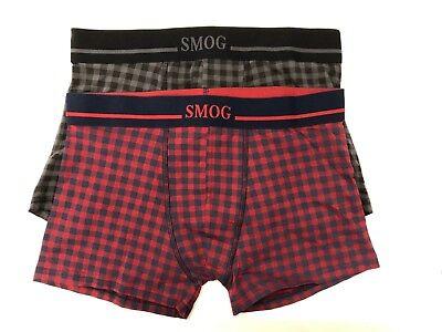 Smog Mens Underwear Multi Colour 2 Pack