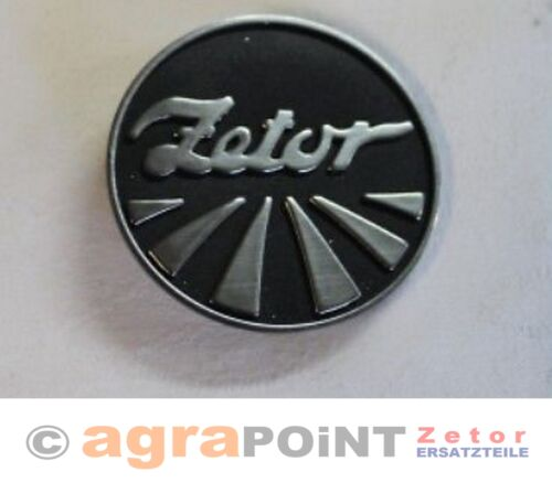 Firmenschild Zetor 70115326-7011 5326 vorn by agrapoint.de NEU