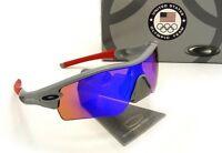 Oakley - Team Usa Radar Path - Sunglasses, Grey / Blue Iridium, 24-301