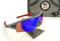 Oakley - Team Usa Radar Path - Sunglasses, Grey / Blue Iridium, 24-301