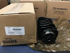 NEW-2009-18-Subaru-WRX-STi-Nitride-Treated-Crankshaft-EJ257-2-5L-Engine-OEM