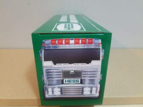 2018 HESS TOY TRUCK RV WITH ATV AND MOTORBIKE NEW IN BOX
