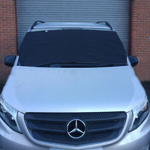 VAN ANTI FROST ICE SNOW PROTECTION  WINDSCREEN COVER FOR RENAULT  VW WINDSHIELD