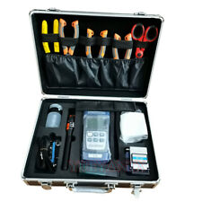 16pcs Ftth Fiber Optic Tool Kit With Optic Power Meter 10mw Visual Fault Locator