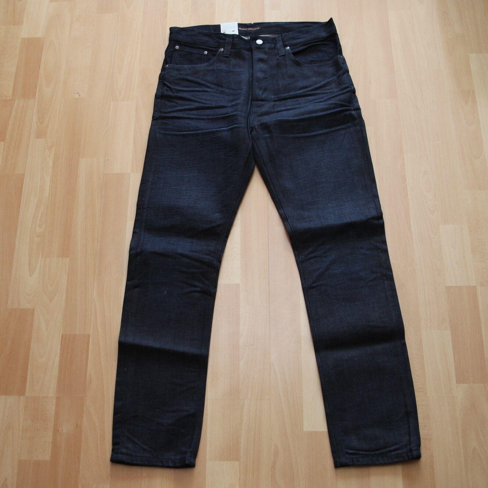 NEU Nudie Jeans  Fearless Frotdie (Loose Anti Fit) Dark Break 30 32