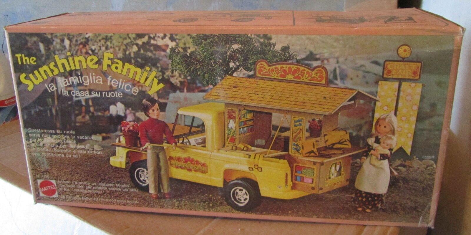 Sunshine family Casa Su route Roulotte camper NUOVO Fondo di magazzino