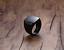 Anello-Fede-a-Fascia-Uomo-Donna-Unisex-Acciaio-Inox-Steel-Nero-Black-Incisione miniatura 10