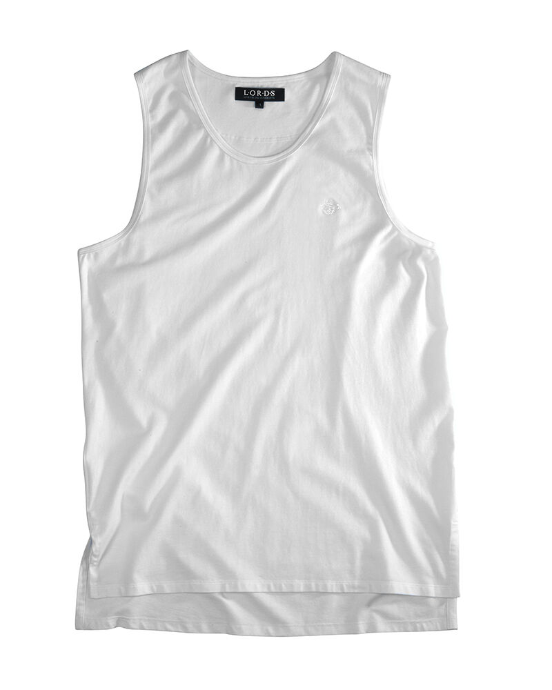 LORDS Tunic Supima Tank   High End Streetwear, Match w  Y3, Rick Owens,FearOfGod