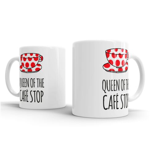 Rich MITCH REGINA DEL CAFE STOP-TAZZA//Coaster-BIKE CICLISMO NINJA