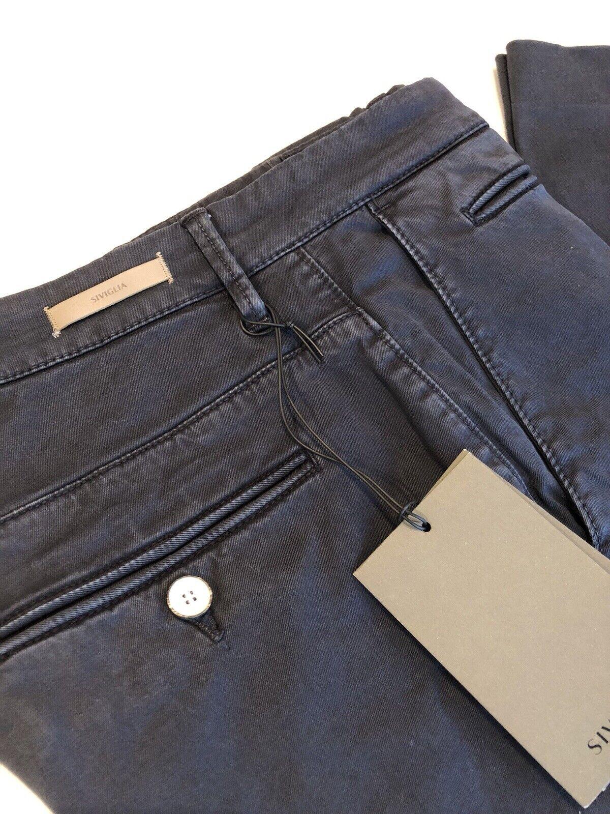 Pantalone Siviglia White men Tg.30 blue