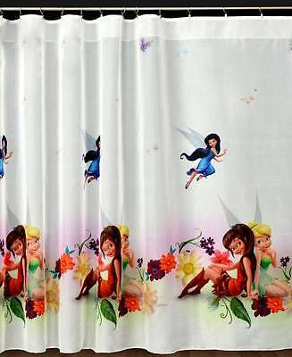 Analytisch Kids Printed Voile Net Curtain-ready Made-disney Fairies Om Een ​​Hoge Bewondering Te Winnen En Is Op Grote Schaal Vertrouwd Thuis En In Het Buitenland.