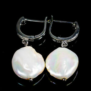 Handmade-Natural-Baroque-Pearl-925-Sterling-Silver-Earrings-E34852