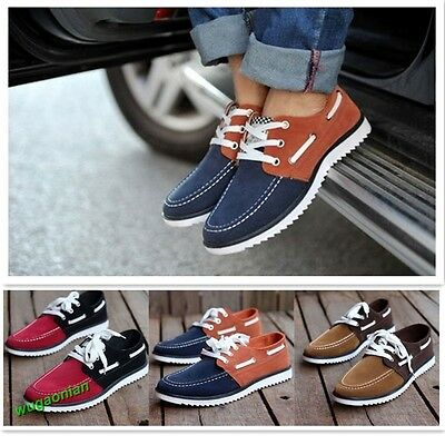 Hot Sale Mens Canvas Leisure Shoes Slip On Flats Canvas Shoes Boy Casual