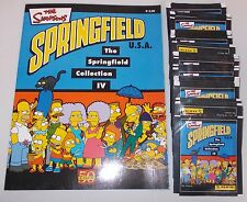 "PANINI ""The Simpsons - Springfield"" Stickeralbum inkl. 70 Tüten"