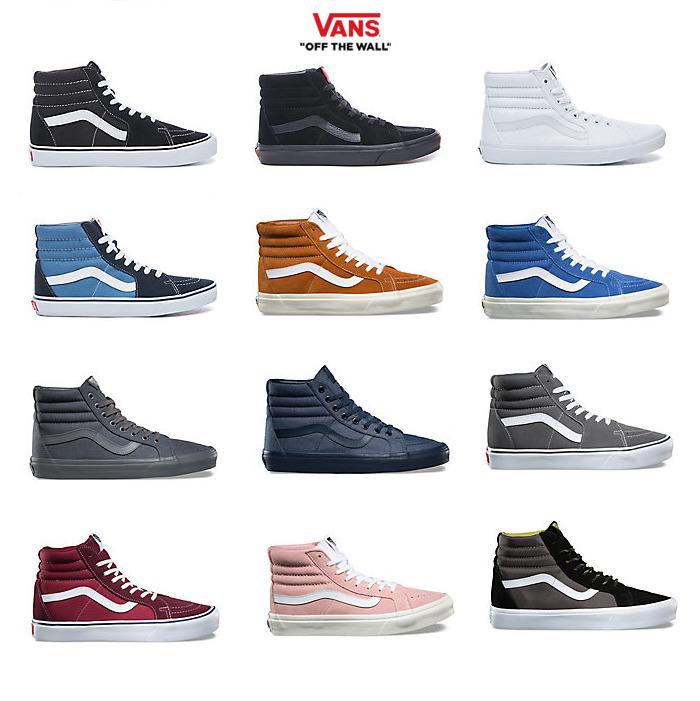 Zapatos Vans Vans Vans SK8 Hi Clásico Hombre Mujer Adulto Unisex Nueva Colección 2018 e767d9