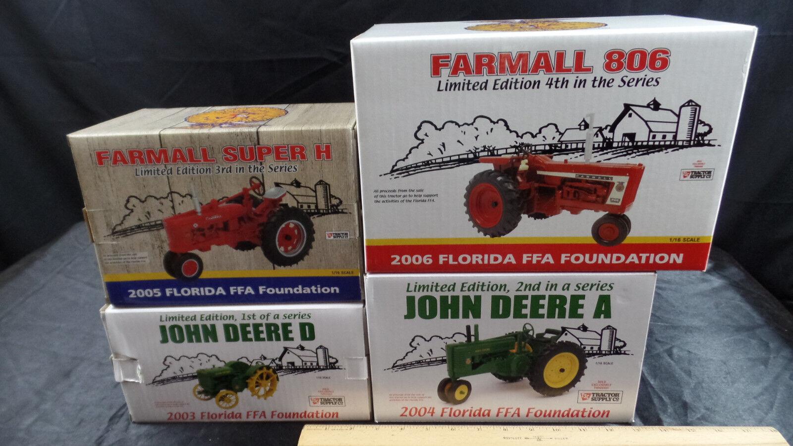 FLORIDA FFA FOUNDATION COLLECTIBLE TRACTOR SUPPLY JOHN DEERE FARMALL 2003-06 A9