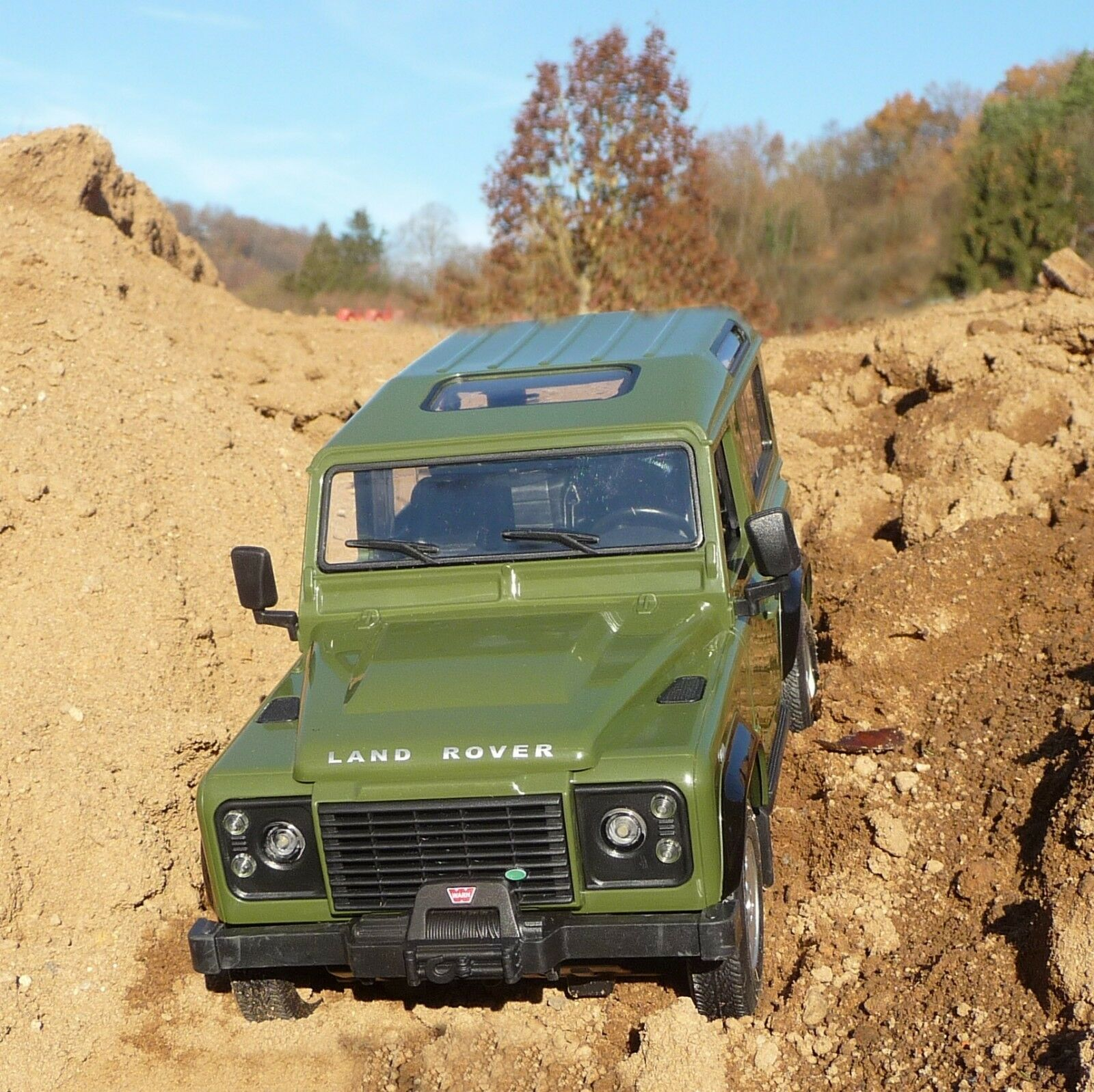 RC RC RC Land-Rover Defender Luce con lunghezza 28cm  remoto 40 MHz  405155 56323b