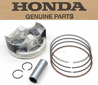 New Genuine Honda Piston Kit Set Rings Pin Clips 08-09 CRF250R Top End #Y106