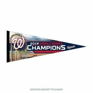 Washington Nationals World Series Champs Premium Quality Pennant 12 X30 Banner Ebay