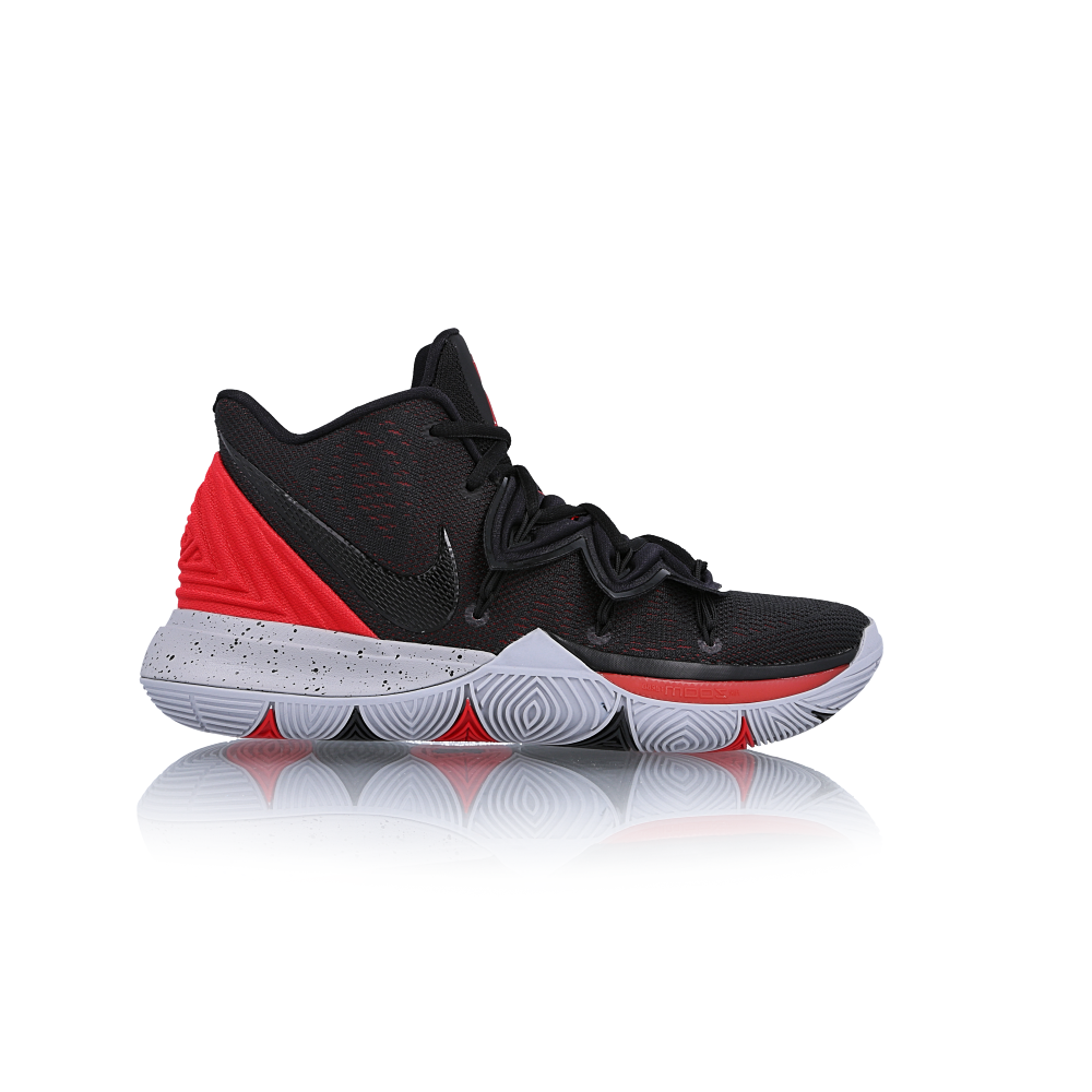 Homme NIKE KYRIE 5 Uni Rouge Basketball paniers AO2918 600 UK 9.5