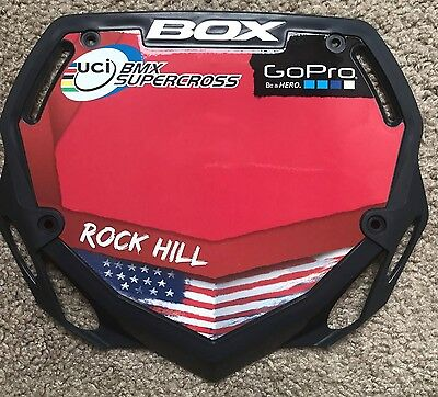 Pick your country! Box Phase 1 Number Plate UCI World Cup Supercross