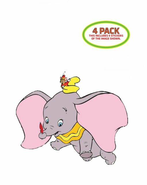 We Made A Wish Dumbo Wall Sticker Wall Chick Decal Art Sticker Quote Ebay