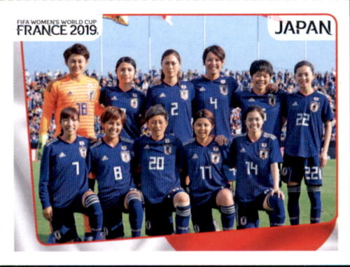 Panini Frauen WM 2019 Sticker 310 Japan Team