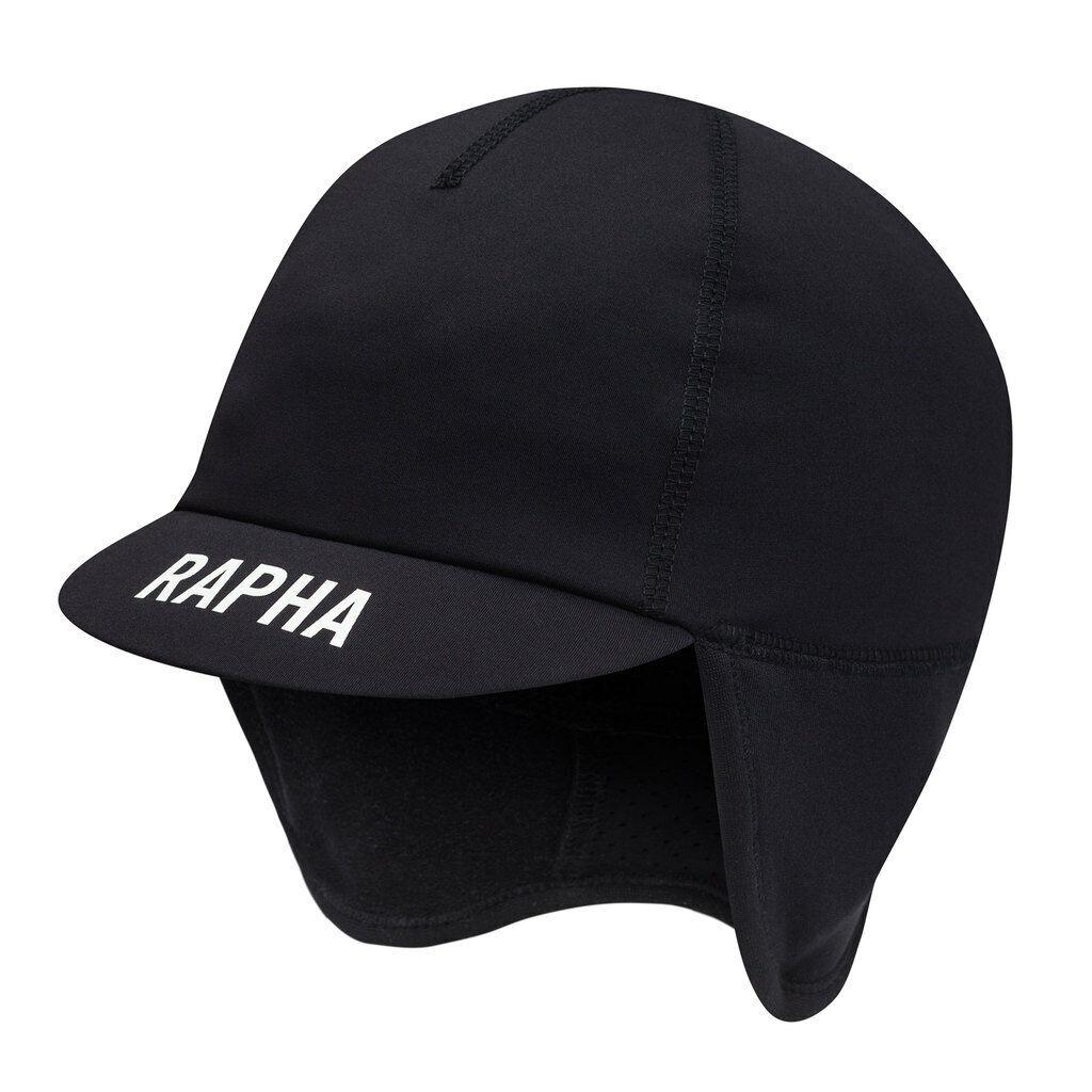 Rapha Pro Cappello Invernale Nero squadra nuovo di zecca con etichetta taglia unica