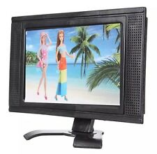 Flat Screen LCD TV For Barbie Doll Dollhouse Miniature Furniture US Seller