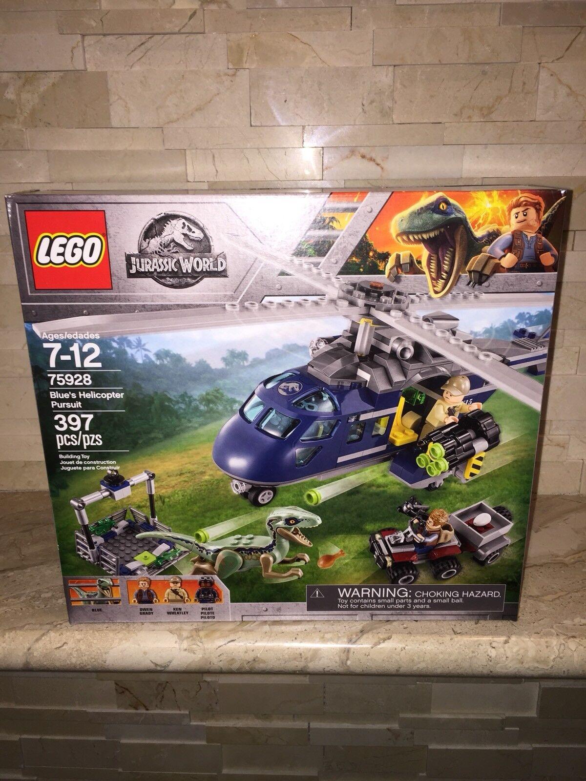 LEGO JURASSIC WORLD SET 75928 bluS HELICOPTER PURSUIT