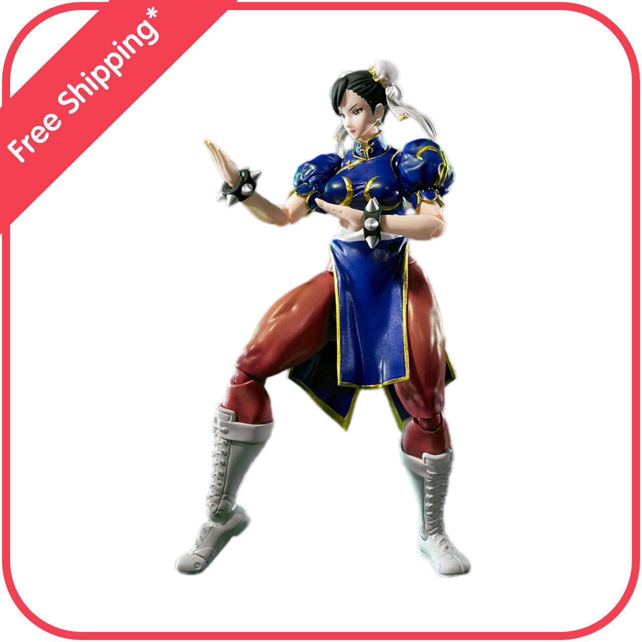 Bandai Chun Li de Street Fighter V Tamashii Nations de S.H. Figuarts
