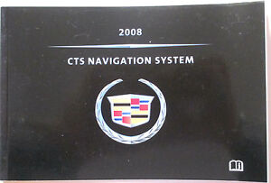 Details about GM 2008 Cadillac CTS Navigation Manual #25813124B