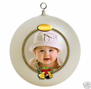 image is loading personalized baby 039 s first christmas ornament gift