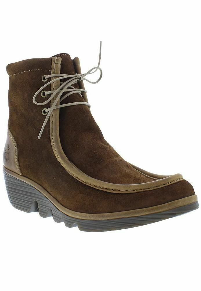 Fly London Womens Pail763fly Boots Brown (Camel) 3UK BRAND NEW Eu36